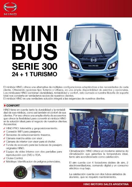 MINI BUS SERIE 300 24+1 Turismo